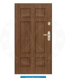 Двері вхідні металеві GERDA WX20 P95 Fraga