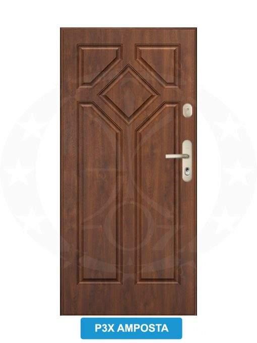 Двері вхідні металеві GERDA WX20 P3X Amposta