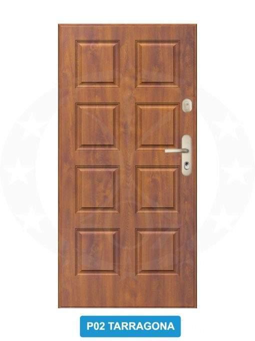 Двері вхідні металеві GERDA WX20 P02 Tarragona