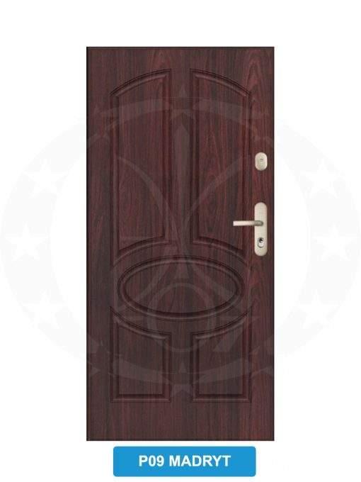Двері вхідні металеві GERDA WX20 P09 Madryt