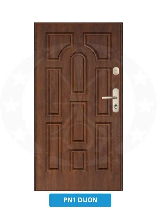 Двері вхідні металеві GERDA WX20 PN1 Dijon