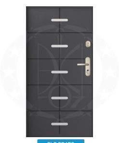 Двері вхідні металеві GERDA WX20 PLP Prato