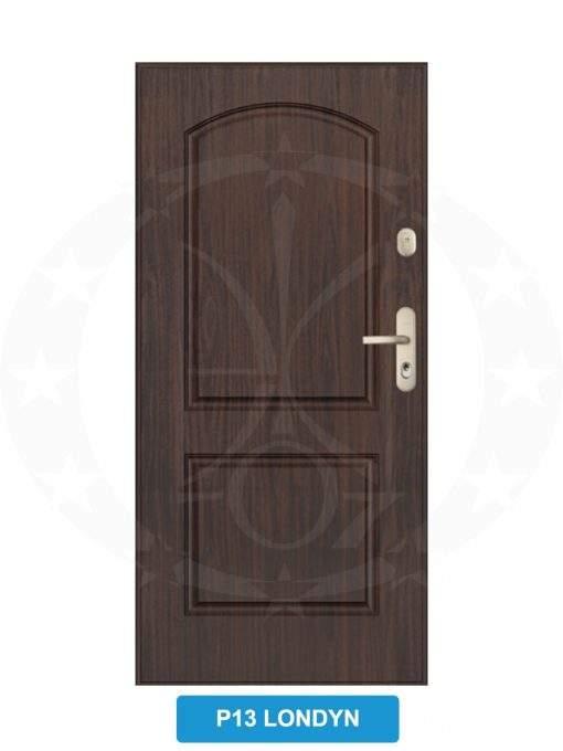 Двері вхідні металеві GERDA WX20 P13 Londyn