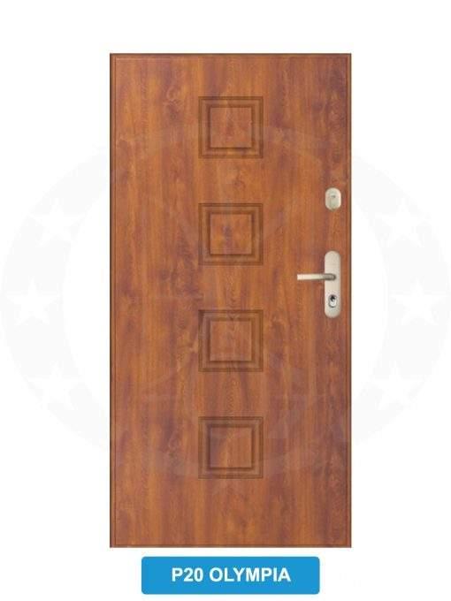 Двері вхідні металеві GERDA WX20 P20 Olympia