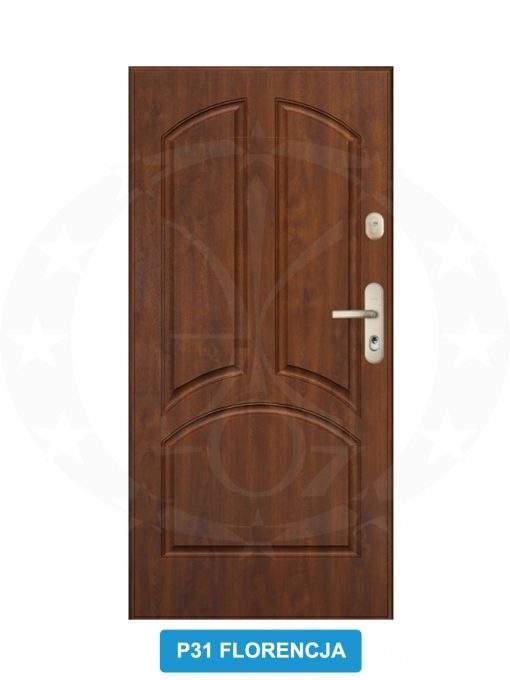 Двері вхідні металеві GERDA WX20 P31 Florencja