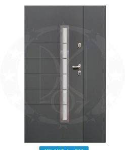 Двері вхідні металеві GERDA TT PLUS DUO Milano 4 P00
