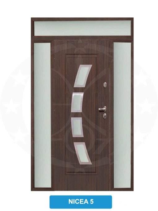 Двері вхідні металеві GERDA TT MAX Z DOSWIETLAMI Nicea 5