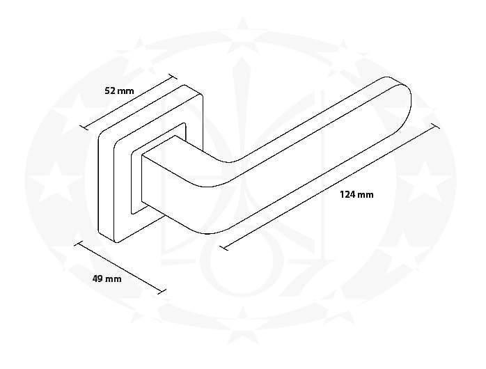 Ручка Metal-Bud RIO креслення