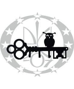 Ключниця Галіндустрія КН-5 чорна
