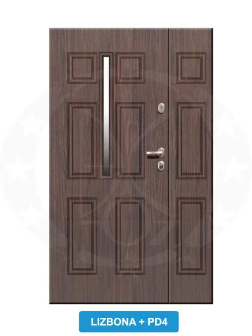 Двері вхідні металеві GERDA TT PLUS DUO Lizbona PD4