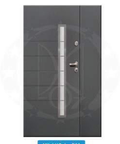 Двері вхідні металеві GERDA TT PLUS DUO milano4 P00