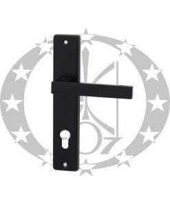 Ручка Plast-Pol Квадратна чорна 72 PZ