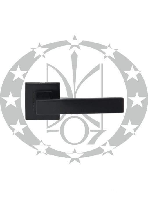 Ручка Metal-Bud TOPAZ квадратна розета чорний PVD