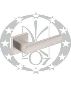 Ручка Metal-Bud CUBE (ZCUKNM) квадратна розета нікель сатинований