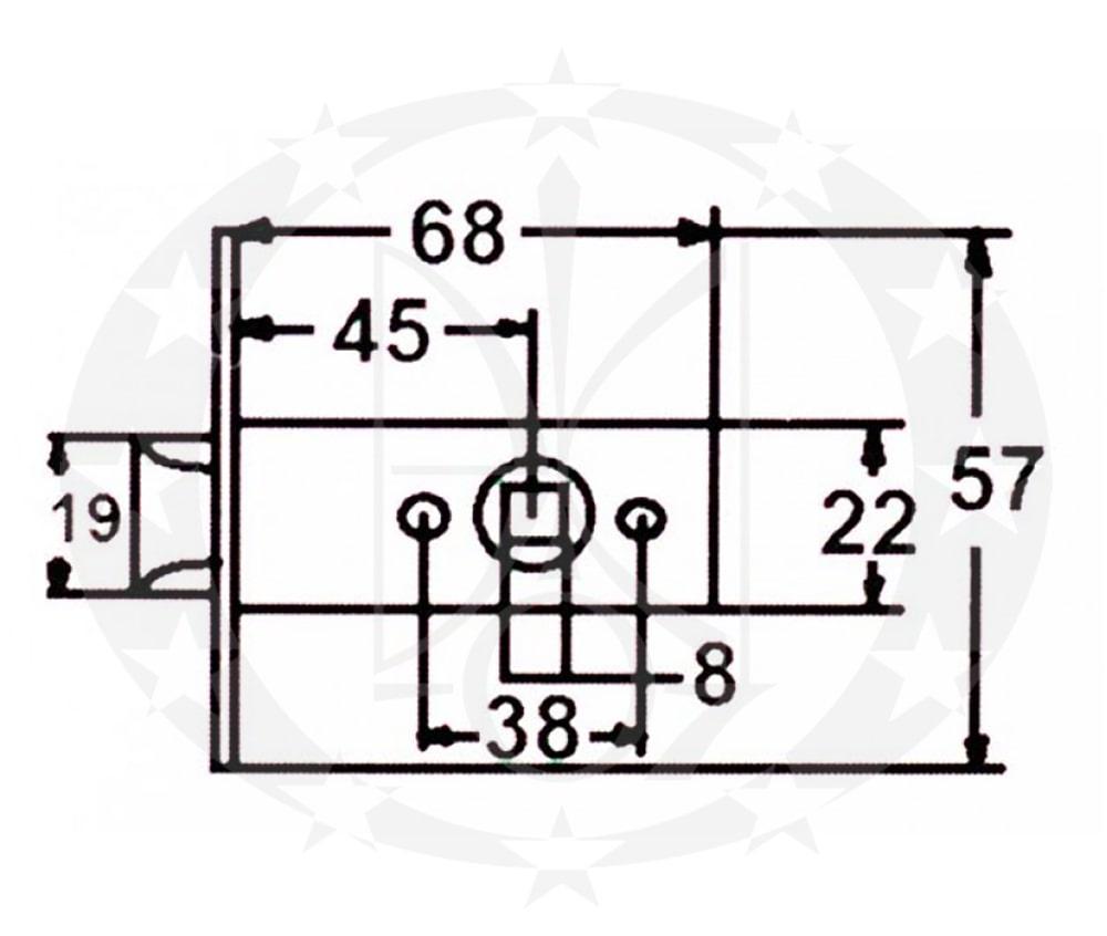 Защіпка CLASS C-03B (KEVLAR) NI