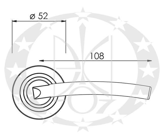 Ручка Nomet VELA T-861-100 креслення