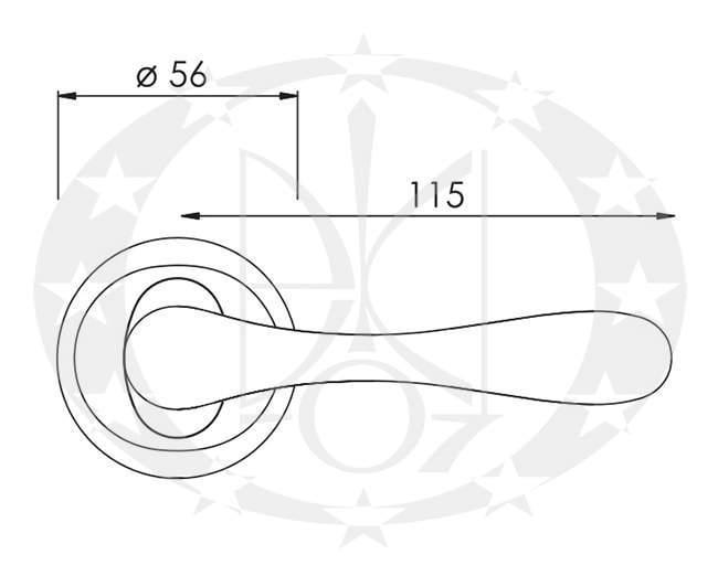 Ручка Nomet LIBRA T-911-104 креслення