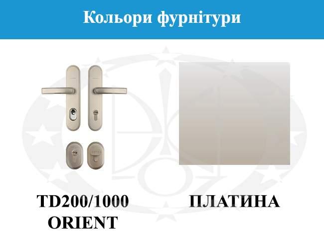 Кольори фурнітури GERDA CP30(S)
