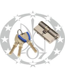 Серцевина WINKHAUS keyTec X-tra 60/60 01 N 5 ключів нікель