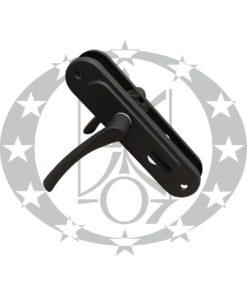 Дверна ручка АРІКО 55 PZ чорна