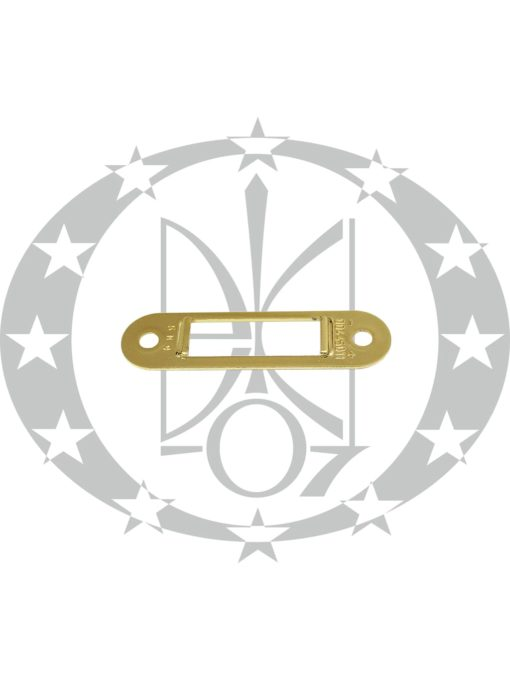 Планка до замка AGB Mediana Polaris Easy-Fix XT латунь