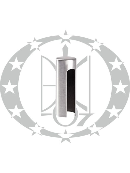 Накладка на завіс (OZ14N) Ф14 нікель сатинований