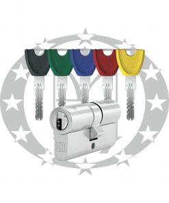 Серцевина WINKHAUS keyTec X-tra 45/45 01 N 5 ключів