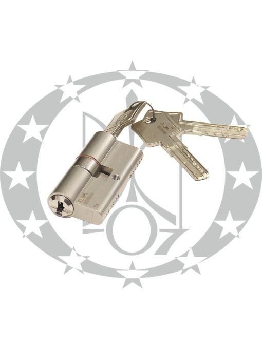 Серцевина WINKHAUS keyTec N-tra 40/40 01 N 3 ключі – асиметрична серцевина німецького бренду WINKHAUS.