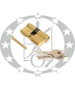 Серцевина ЗМ 31/31 латунь 3 ключі (цинк)