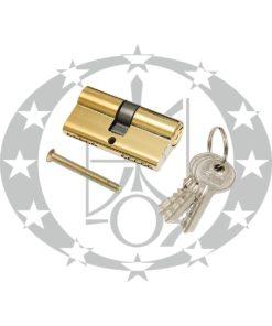 Серцевина ЗМ 31/31 латунь 3 ключі (алюміній)