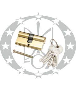 Серцевина ЗМ 31/31 латунь 5 ключів (алюміній)