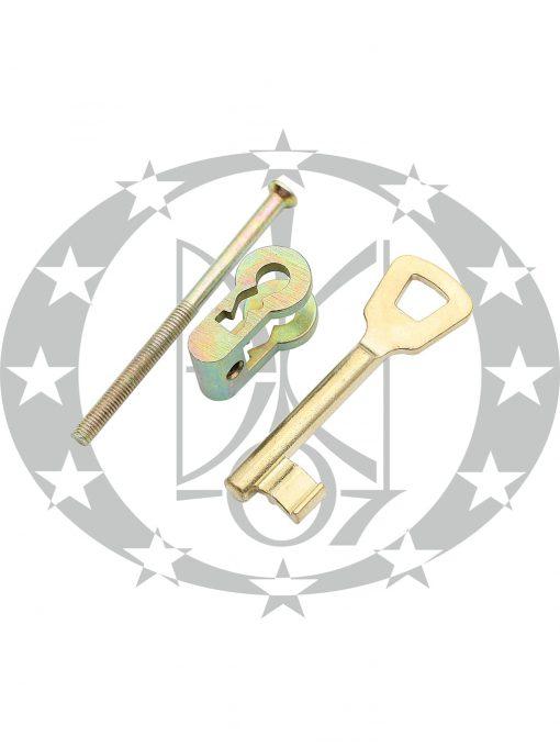 Перехідник латунь PZ/ключ