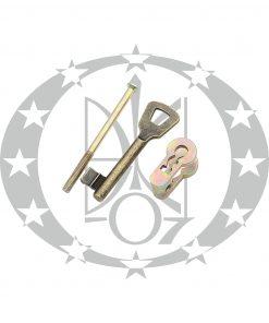 Перехідник бронза PZ/ключ