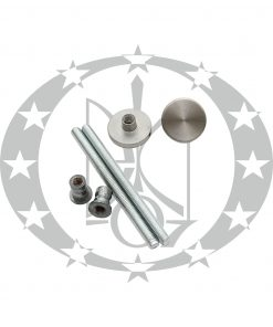 Монтажні елементи до круглої антаби з нержавйки Ф35 мм