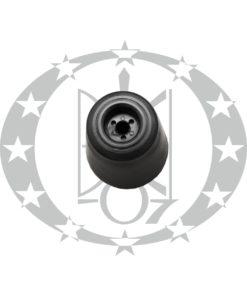 Дверний обмежувач MEGA чорний