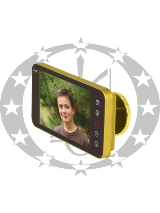 Відео - вічко AMIG mod. DWR 4.0 HD (21376) золото