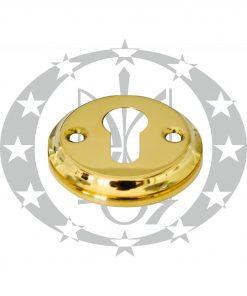 Дверна накладка Metal - Bud PZ кругла латунь