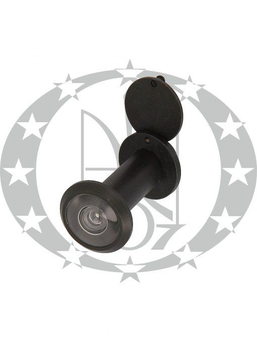 Дверне вічко AMIG mod.5 (9971) чорний 200* d16 60-85
