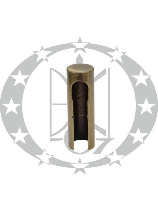 Накладка на завіси Ф14 бронза (OZ14P)