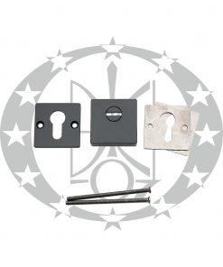 Броненакладка CLASS QVADRO PROTECT PZ Black mat противзламна