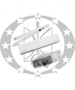 Дверний дотягувач GEZE TS4000 білий важільна тяга