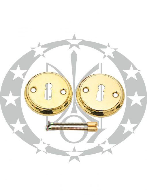 Дверна накладка Metal - Bud ключ кругла латунь