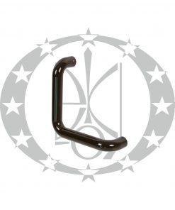 Антаба на металопластикові двері ECO гнута коричнева (34/334mm)