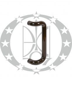 Антаба на металопластикові двері ECO пряма коричнева (34/334mm)