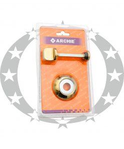 Дверна накладка ARCHIE AW-1131-OL CE WC золото