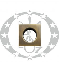 Вентиляція металева WC бронза