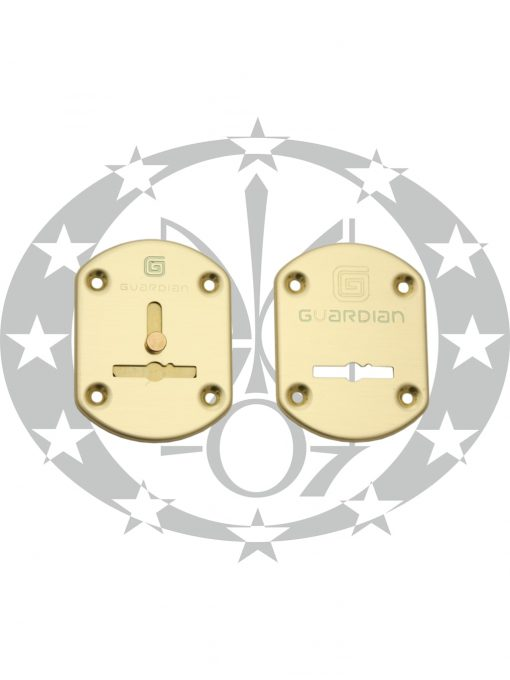 Дверна накладка Гардіан ГЛ21 ключ латунь