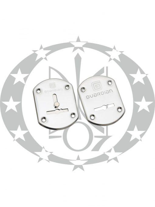 Дверна накладка Гардіан ГХ21 ключ хром