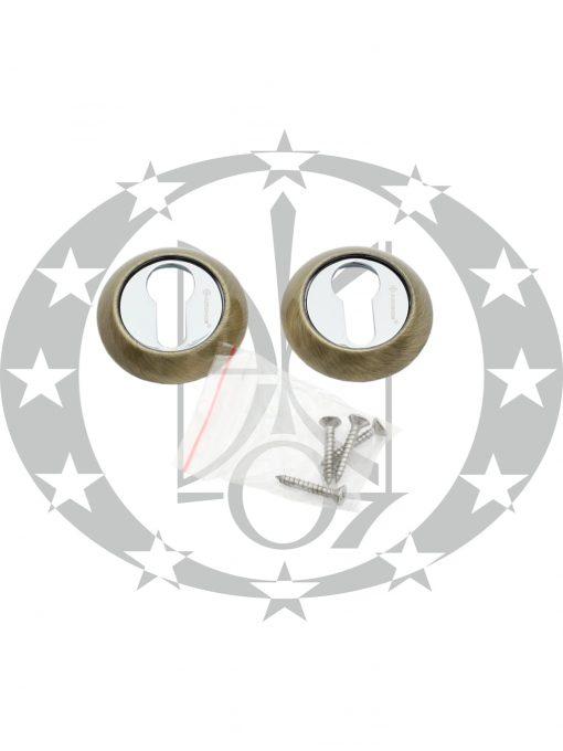 Дверна накладка ARCHIE AW-1131-CL 15 PZ бронза