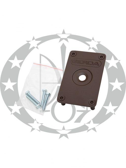 Броненакладка GERDA ZX коричнева противзламниа